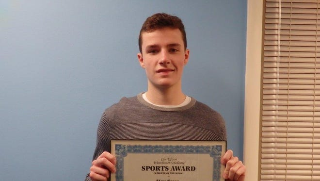 Raiders shooting guard Max Bosco is the Con Edison Athlete of the Week