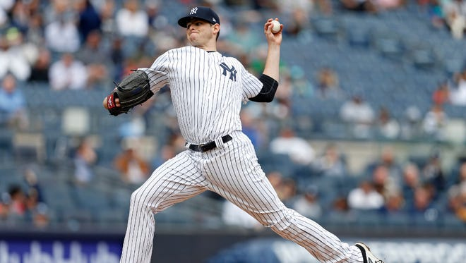 Jordan Montgomery will make his second major-league start when the Yankees host the White Sox on Monday.