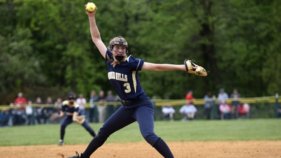 Indian Hills junior pitcher Angela Saric will try to lead her team past Immaculate Conception in the BCT quarterfinals.