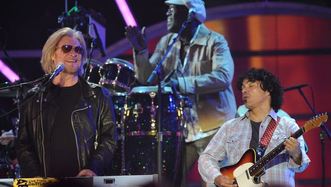 Hall & Oates co-headline the BMO Harris Bradley Center Saturday with Tears for Fears.
