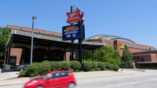 The Milwaukee Theatre changed its name to the Miller High Life Theatre last month as part of a five-year, $1.75 million title sponsorship deal with MillerCoors. Sister venue the UW-Milwaukee Panther Arena has also gone through some changes, with $6.3 million in renovations completed last year.