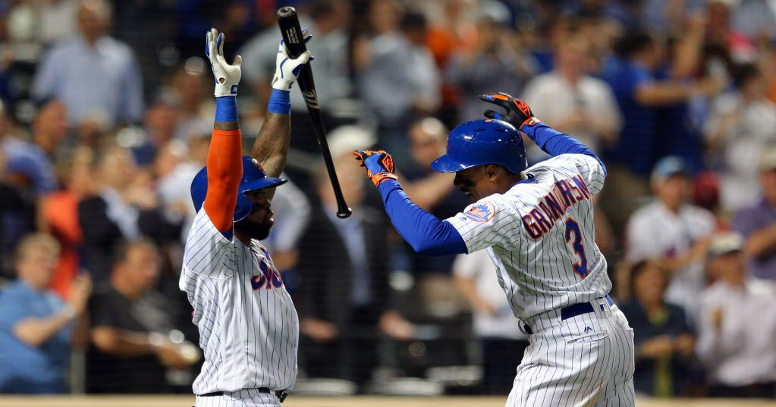 e34d81c09 Curtis Granderson breaks tie late in Mets win with 300th home run