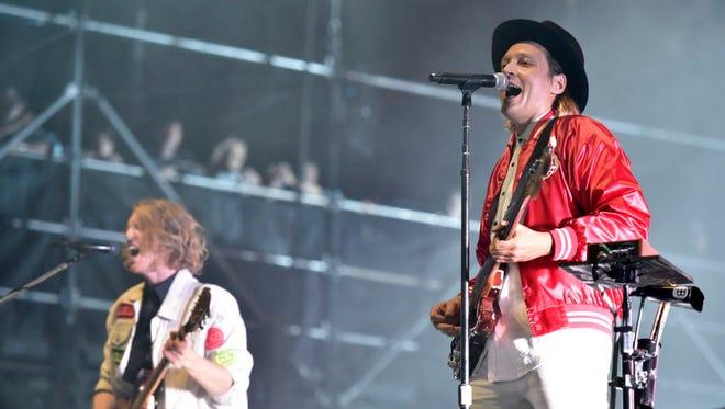 Arcade Fire will be one of the headliners at the 2018 Okeechobee Music & Arts Festival at Sunshine Grove near Okeechobee.