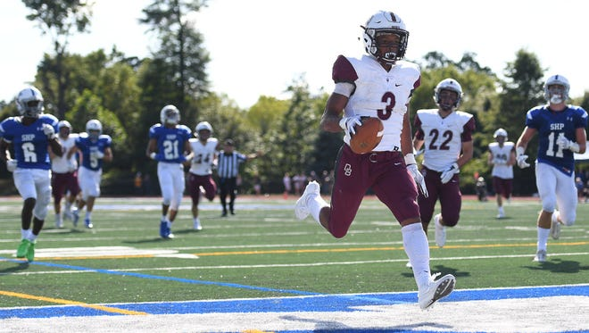 Running back Jalen Berger and Don Bosco will face off against a tough DePaul team on Friday night.