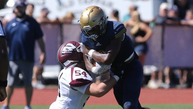 NV/Old Tappan and RB Marquez Antinori will look to stay undefeated when the top-ranked Golden Knights take on No. 11 Northern Highlands on Friday night.