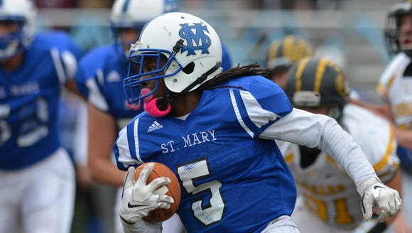 Shawan Gresham rushed for 317 yards and five touchdowns