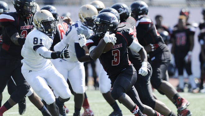 Kennedy RB Azmir Ivy and the Knights will play rival Eastside on Thanksgiving Day.