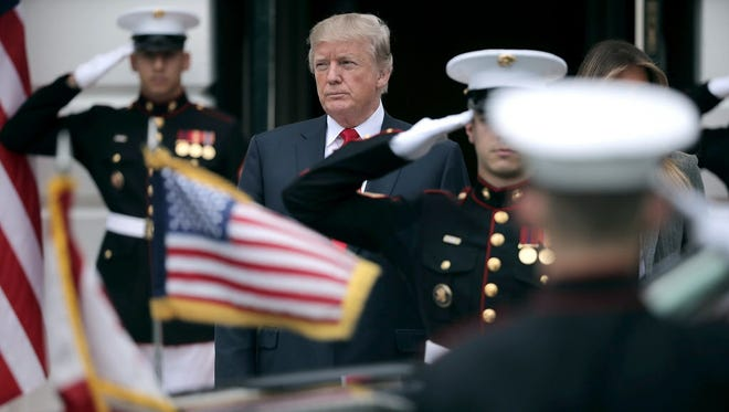 Majority of service members support Donald Trump: Military Times poll