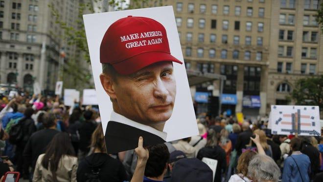 Rally in New York City in June 2017.