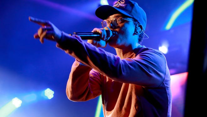 """Logic, the rapper behind suicide prevention single """"1-800-272-8255,"""" is at the Rave's Eagles Ballroom Dec. 13, with Dua Lipa opening."""