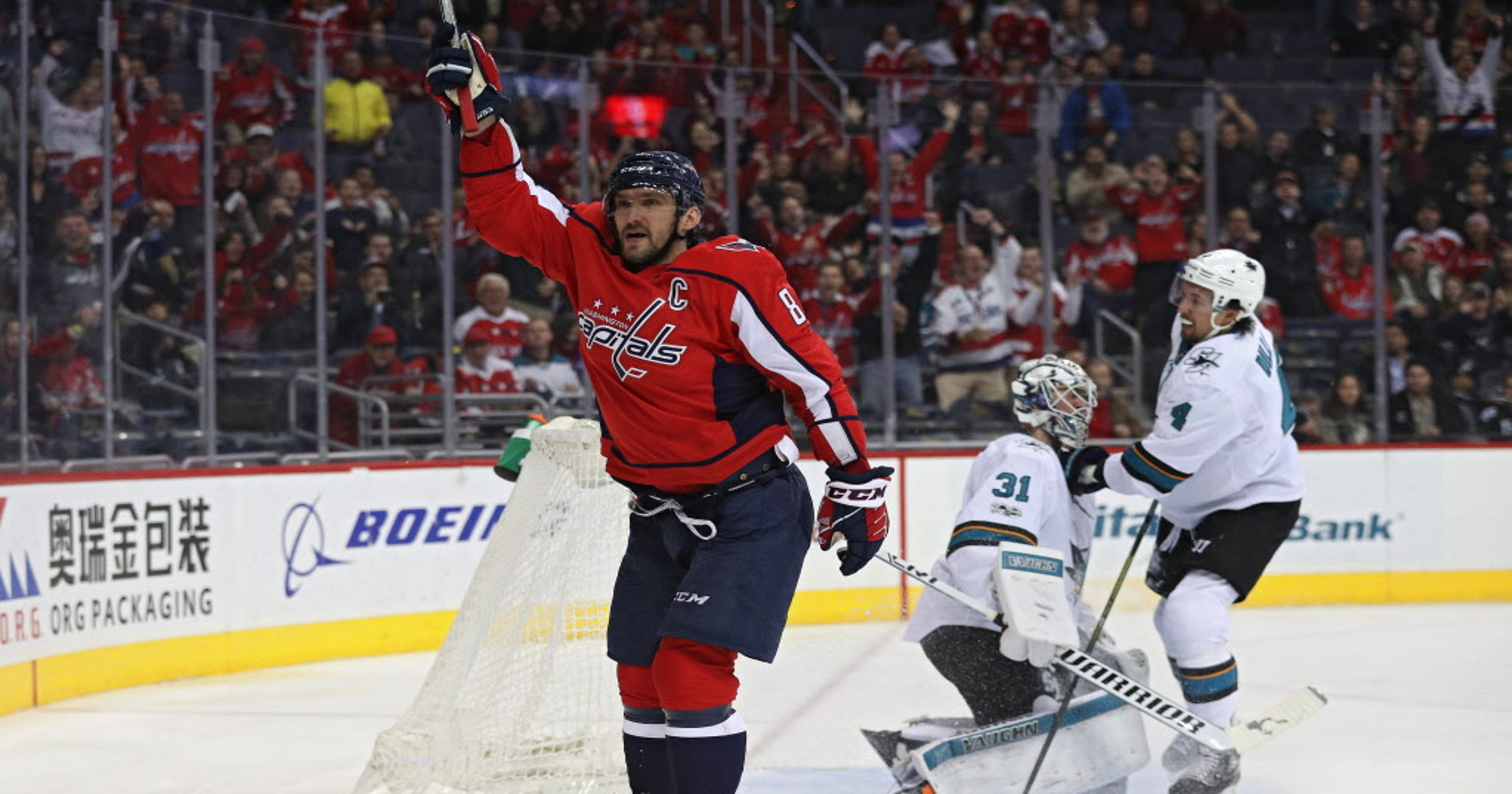 1d05bf980b4 Alex Ovechkin moves to 20th on all-time goal list in Capitals win