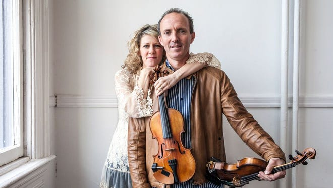 Natalie MacMaster and Donnell Leahy will perform Feb. 11 at the Fox Cities Performing Arts Center in Appleton.