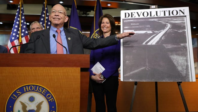 Rep. Peter DeFazio, D-Ore., is ranking member of the House Transportation and Infrastructure Committee.