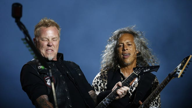 Metallica is coming to the Milwaukee Bucks' new arena.