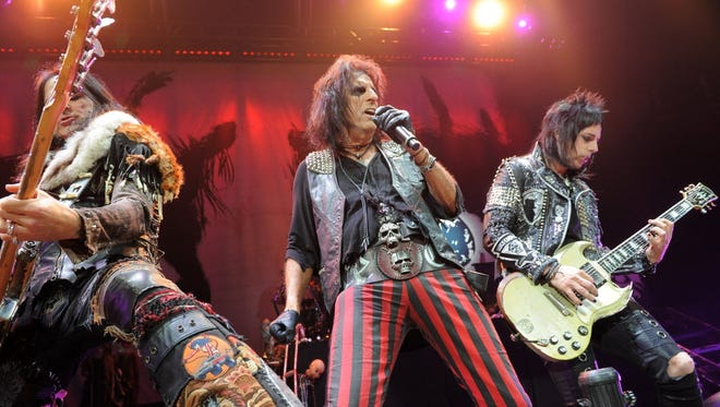 Alice Cooper performs at the Wisconsin State Fair Aug. 3. Tickets ($35 to $45) go on sale at 9 a.m. Friday.