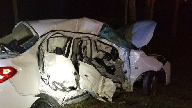 Police are investigating the crash in Titusville that killed four family members visiting from Bristol, England.