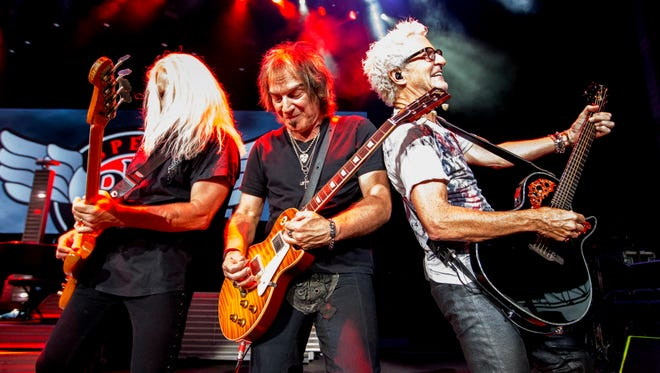 REO Speedwagon will headline the Wisconsin State Fair's Main Stage on opening night, Aug. 1