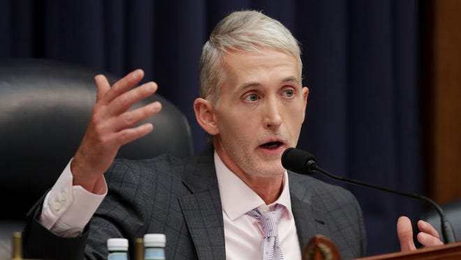 House Oversight and Government Reform Committee Chairman Trey Gowdy on July 12, 2018