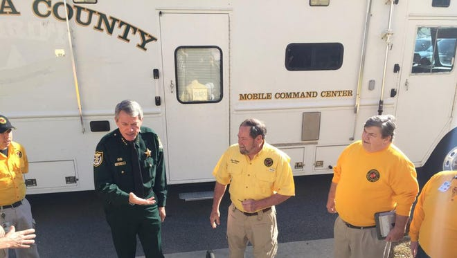 Escambia County Sheriff's Office donated its old mobile command vehicle to Escambia County Search and Rescue Wednesday.