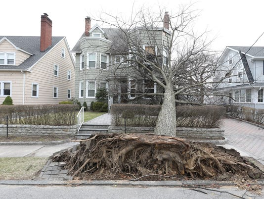 Yonkers storm damage