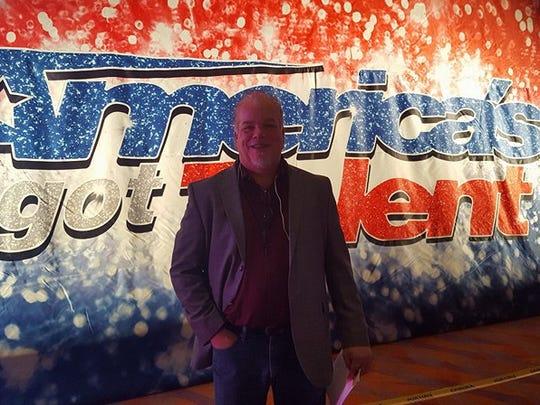 "Grand Ledge resident Steve Spees, 51, at an audition for ""America's Got Talent"" Nov. 14, 2017 at Duke Energy Convention Center in Cincinnati, Ohio."