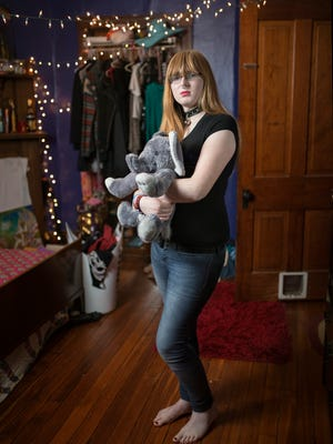 """Nearly three years ago Maddie Dalton became the first student at Louisville's Atherton High to come out as a transgender woman, and her push to use the women's bathroom sparked a public controversy.  """"Since I was never exposed to transphobia, something I know is a privilege, I was kind of surprised to see how much there was,"""" Dalton said. """"The first time I vocalized it - I guess that was kind of the event horizon for me - after that it was just me gaining courage."""" Dec. 6, 2016"""