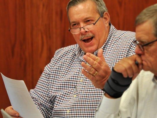 Wichita County Precinct 4 Commissioner Jeff Watts is