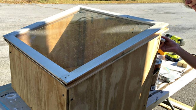 Building a cold frame is easy to do and extends the gardening season.