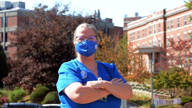 Glennie Poletti, R.N., 59, of Norwich is a nurse at The William W. Backus Hospital in Norwich.