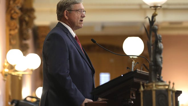 Ohio House Speaker Bob Cupp, R-Lima, is overseeing amendments to GOP leadership's bill giving exemptions to COVID-19 vaccine mandates imposed by businesses and schools.