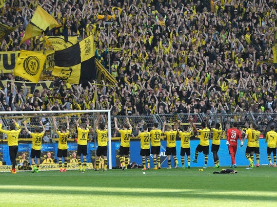 The Bundesliga title was out of Borussia Dortmund's