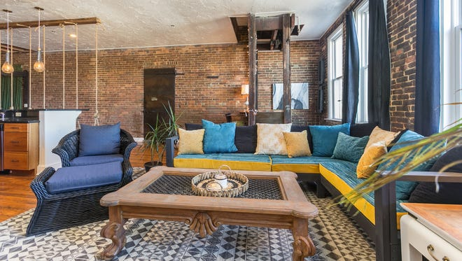 Pictured is Charity Evans' Commercial Street Airbnb loft. Springfield City Council approved a bill Monday night that regulates such short-term rentals.
