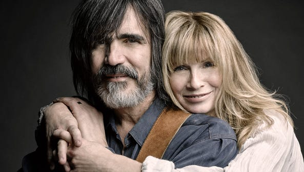Woodstock residents Larry Cambpell and Teresa Williams.