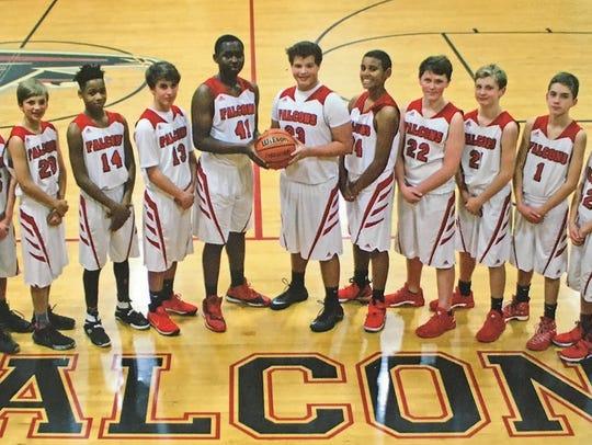 2017 Fairview Middle School Varsity Boys Basketball
