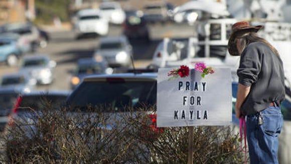 Sign in Prescott, Kayla Mueller's hometown.