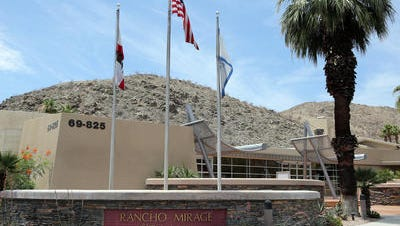 Former Rancho Mirage employee Sandra Johnson is under investigation for suspicion of embezzlement, officials say.
