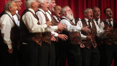 The Morris Music Men perform as one of the finalists for the 2015 Morristown's Got Talent, now known as Morristown ONSTAGE! Registration deadline is Dec. 8.