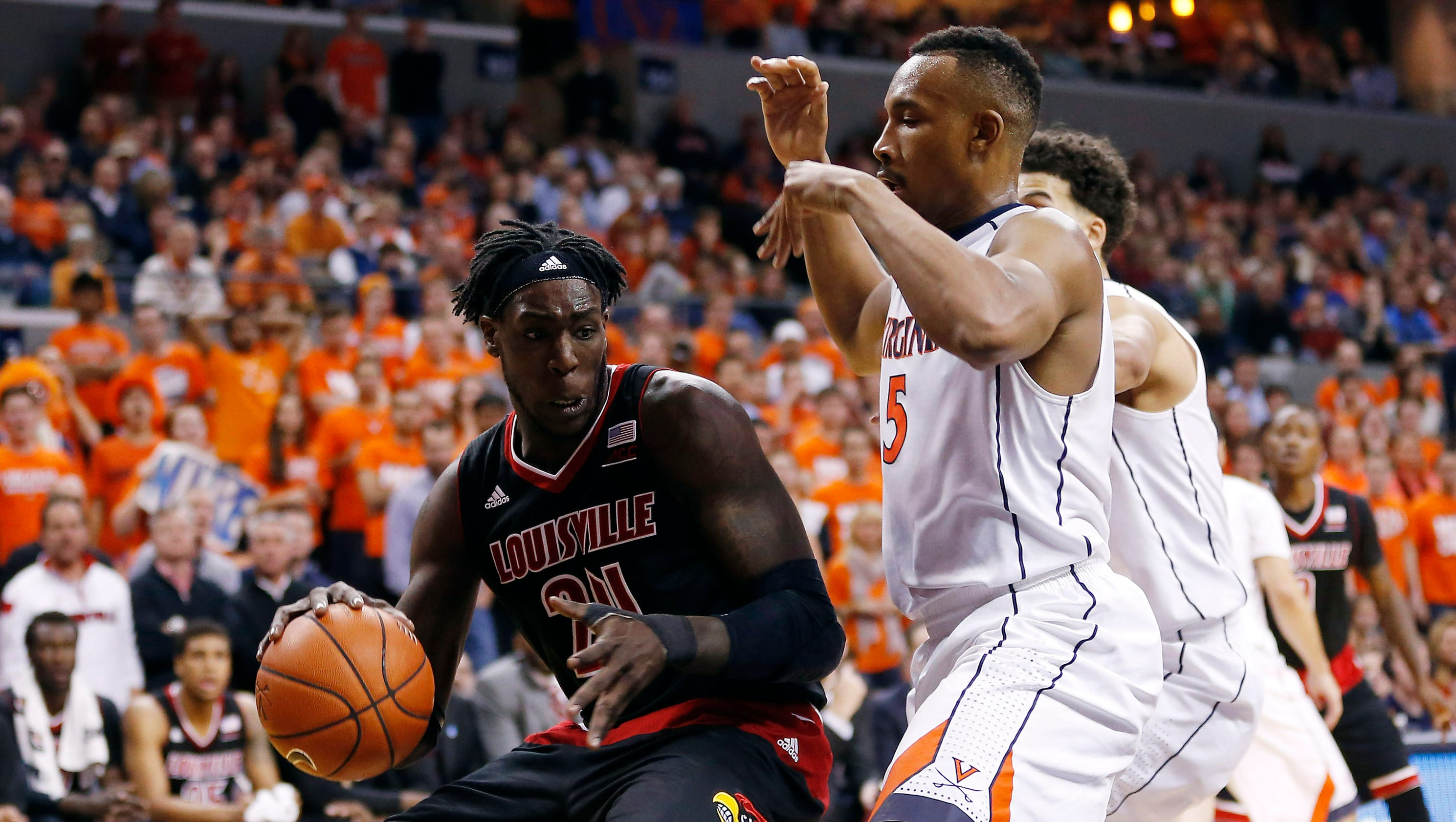 Justin Anderson injured in No. 3 Virginia's win over No. 8 Louisville