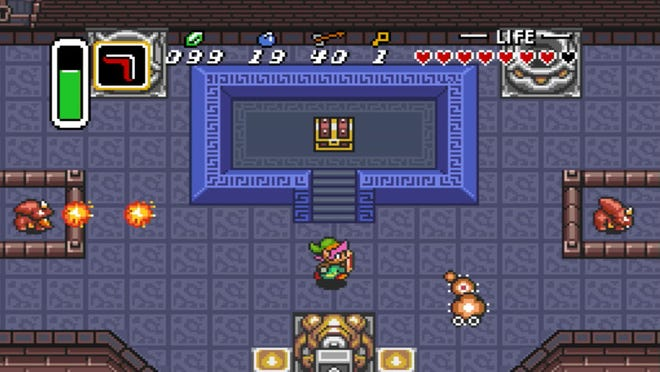'The Legend of Zelda: A Link to the Past'