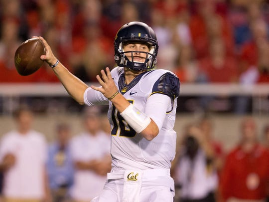 California quarterback Jared Goff ranks second in the Pac-12 in passing yards and touchdowns.