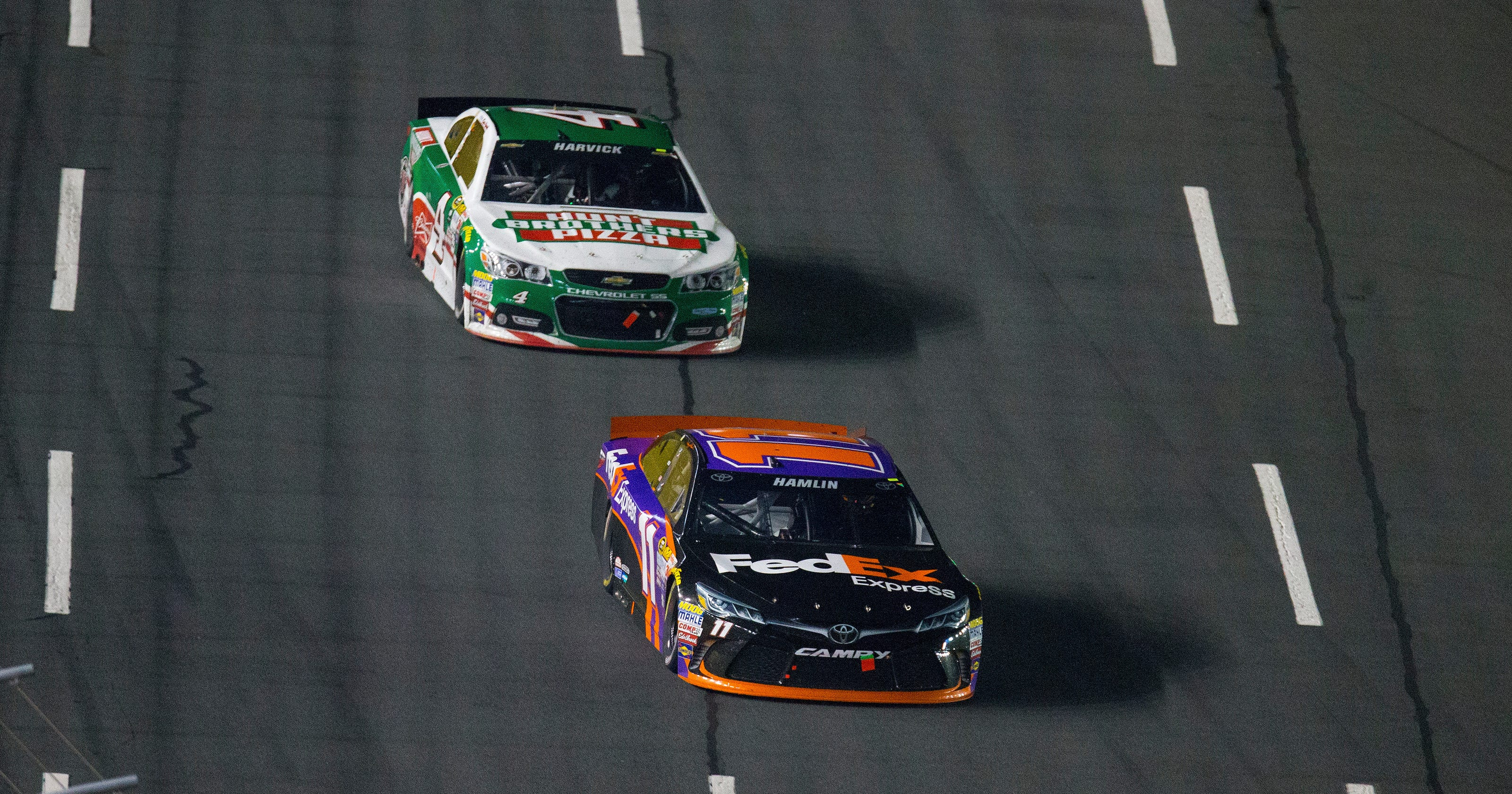 00be6e6c0eee11 Hamlin gives Joe Gibbs first victory in NASCAR All-Star race