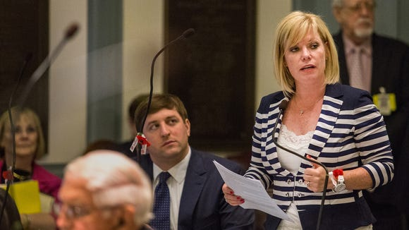 State lawmakers tabled legislation on Tuesday that attempts to improve how Delaware schools accommodate students with disabilities. Sen. Nicole Poore, D-New Castle, is the bill's sponsor.
