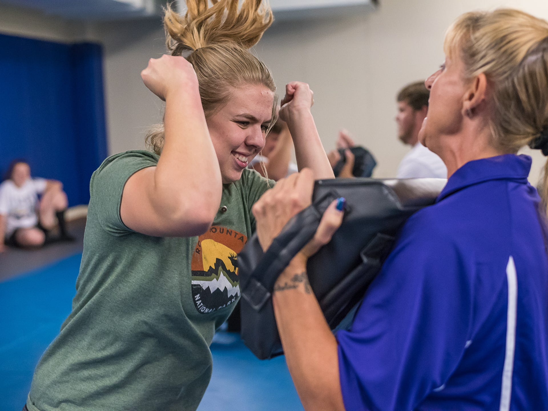 Photos: Female self defense class held by Loveland Police