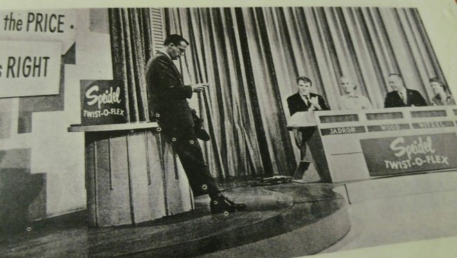 Selma Wood, second from left, won a Cherokee model home and homesite at Cape Coral on TV's 'The Price is Right.' The show's host, Bill Cullen, is on the left.