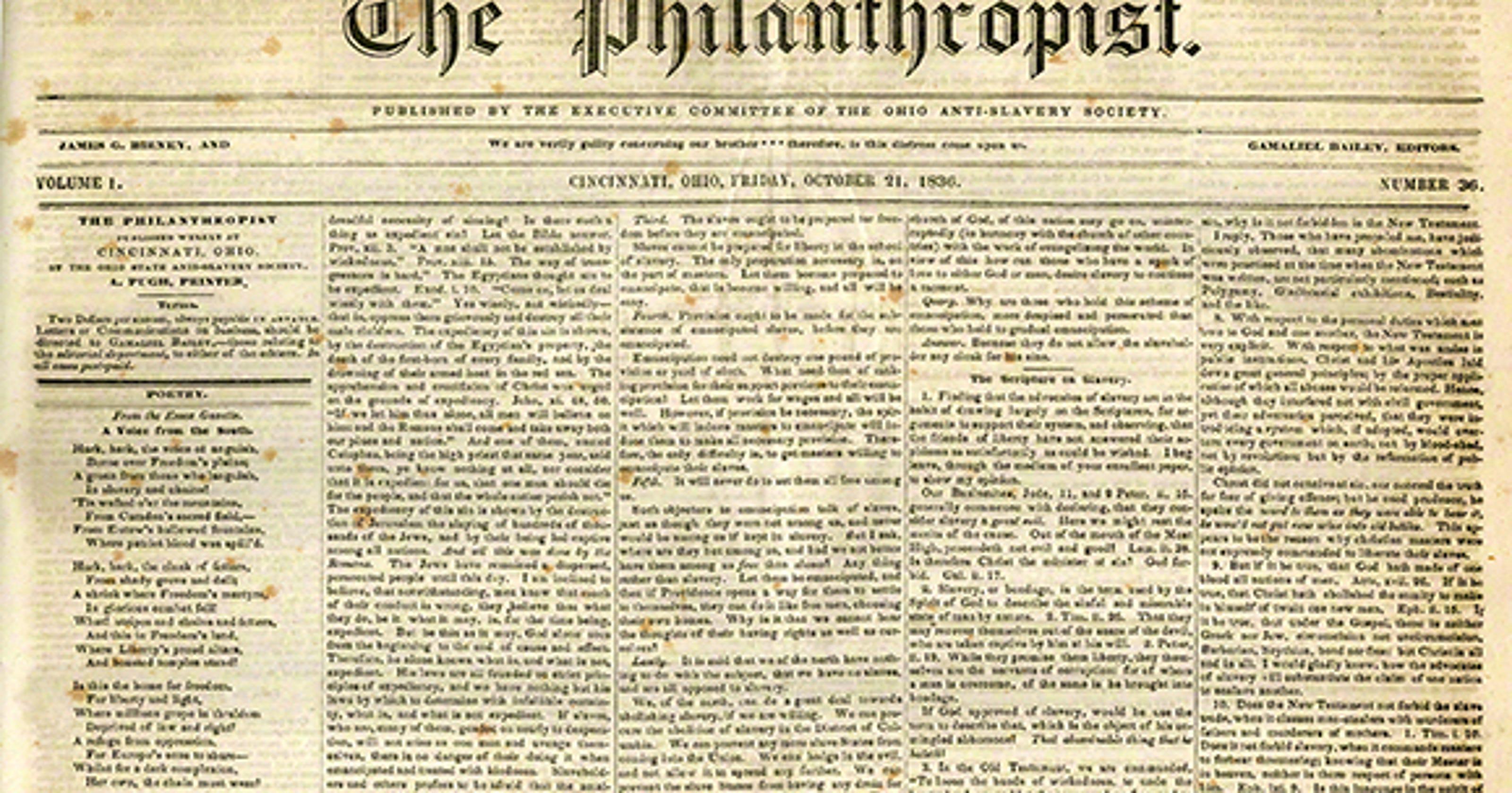 Cincinnati riots of 1836