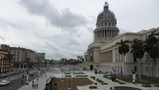 This was the view from the Gran Teatro de la Habana where FSU students and Cuban singers presented a concert in early May.