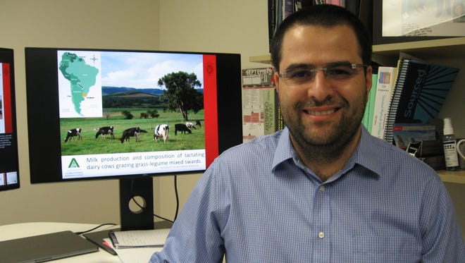 Sebastian I Arriola Apelo joined the UW-Madison Department of Dairy Science in summer 2017 as an assistant professor.