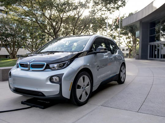 Wireless electric cars about to hit the road