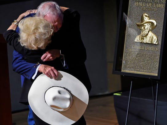 Brenda Lee introduced Charlie Daniels during the Country