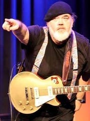 Dallas Hodges will bring his blues show to Grapes and Hops Saturday night.